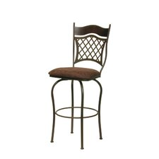 Raphael I Swivel Bar Stool with Cushion