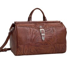 "Retro Romance 18"" Leather Travel Duffel"
