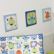 Monster Babies Hanging Art (Set of 3)