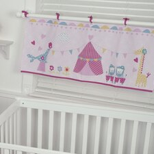 "Circus Circus 44"" Window Curtain Valance"
