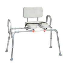 <strong>Eagle Health</strong> Transfer Bench with Padded Cut-Out and Handle