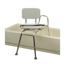 <strong>Eagle Health</strong> Transfer Bench with Molded Swivel Seat and Back