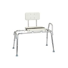 <strong>Eagle Health</strong> Series 6 Transfer Bench with Molded Seat and Back