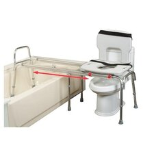 <strong>Eagle Health</strong> Extra Long Toilet to Tub Sliding Transfer Bench