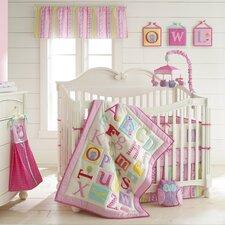 Owlphabet 4 Piece Crib Bedding Set