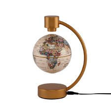 "4"" Levitating Globe in Antique"