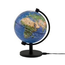 "5"" Illuminated Physical Globe"