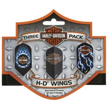 Harley Davidson™ Wings Triple Pack