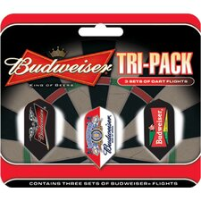 Budweiser™ Slim Triple Pack Flights