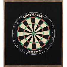 <strong>Dart World</strong> Pine Dart Board Backboard