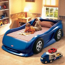 <strong>Little Tikes</strong> Blue Sports Car Twin Bed