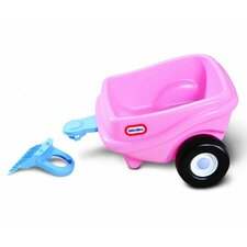 <strong>Little Tikes</strong> Cozy Coupe Princess Trailer Ride-On