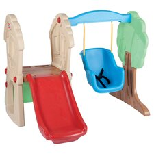 Hide and Seek Climber Swing Set