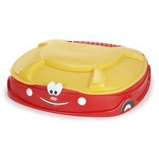 Cozy Coupe 4.17' Rectangular Sandbox