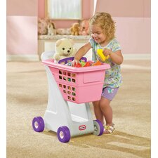 Role Play Shopping Cart in Pink
