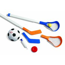 <strong>Little Tikes</strong> Easy Score Soccer, Hockey and Lacrosse Set
