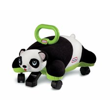 Pillow Racers Panda Push Ride-On