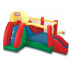 <strong>Little Tikes</strong> Double Fun Slide 'n Bounce Bouncer
