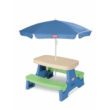 <strong>Little Tikes</strong> Easy Store Jr. Table with Umbrella