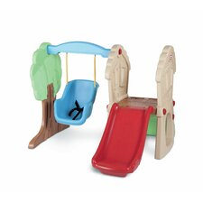 <strong>Little Tikes</strong> Hide and Seek Climber Swing Set