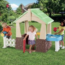 <strong>Little Tikes</strong> Deluxe Home and Garden Playhouse