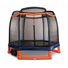 <strong>Little Tikes</strong> 7' Trampoline with Safety Enclosure