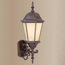 Hamilton Outdoor Up Light Wall Lantern