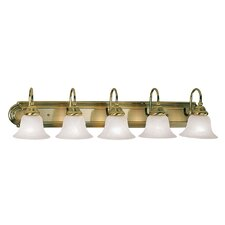 Belmont 5 Light Vanity Light