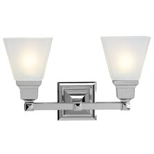 <strong>Livex Lighting</strong> Mission 2 Light Bath Vanity Light