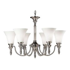 <strong>Livex Lighting</strong> New Haven 6 Light Chandelier