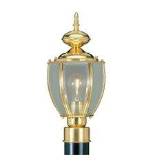 Outdoor Basics 1 Light Post Lantern