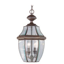 Monterey 2 Light Outdoor Hanging Lantern