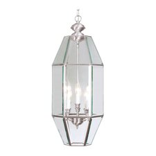 Home Basics 6 Light Foyer Pendant