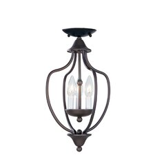 3 Light Convertible Foyer Pendant