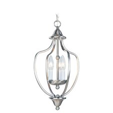 <strong>Livex Lighting</strong> 3 Light Convertible Foyer Pendant