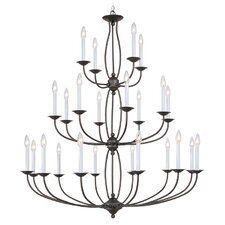 <strong>Livex Lighting</strong> 20 4 Light Chandelier
