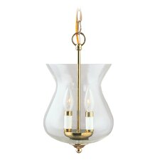 <strong>Livex Lighting</strong> 2 Light Convertible Foyer Pendant