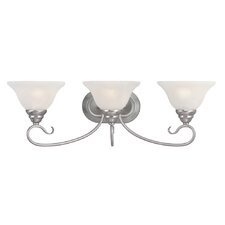 <strong>Livex Lighting</strong> Coronado 3 Light Vanity Light