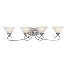 <strong>Livex Lighting</strong> Coronado 4 Light Vanity Light