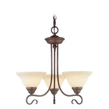<strong>Livex Lighting</strong> Coronado 3 Light Chandelier