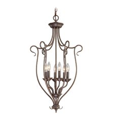 <strong>Livex Lighting</strong> Coronado 6 Light Foyer Pendant