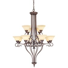 <strong>Livex Lighting</strong> Coronado 12 Light Chandelier