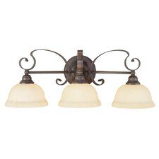 <strong>Livex Lighting</strong> Manchester 3 Light Vanity Light