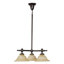 Gas 3 Light Chandelier