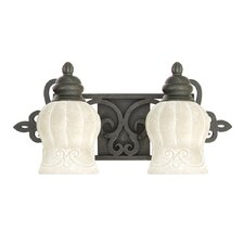 <strong>Livex Lighting</strong> Royal 2 Light Vanity Light
