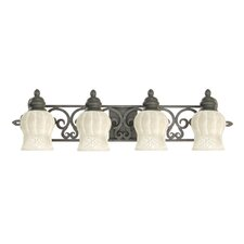 <strong>Livex Lighting</strong> Royal 4 Light Vanity Light
