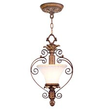 <strong>Livex Lighting</strong> Savannah  Convertible Pendant in Venetian Patina