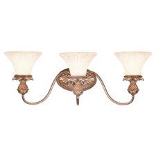 <strong>Livex Lighting</strong> Savannah 3 Light Vanity Light