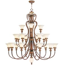 <strong>Livex Lighting</strong> Savannah 22 Light Chandelier