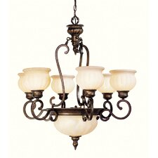 <strong>Livex Lighting</strong> Renaissance 8 Light Chandelier